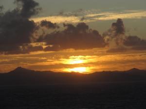 Sinai at dusk